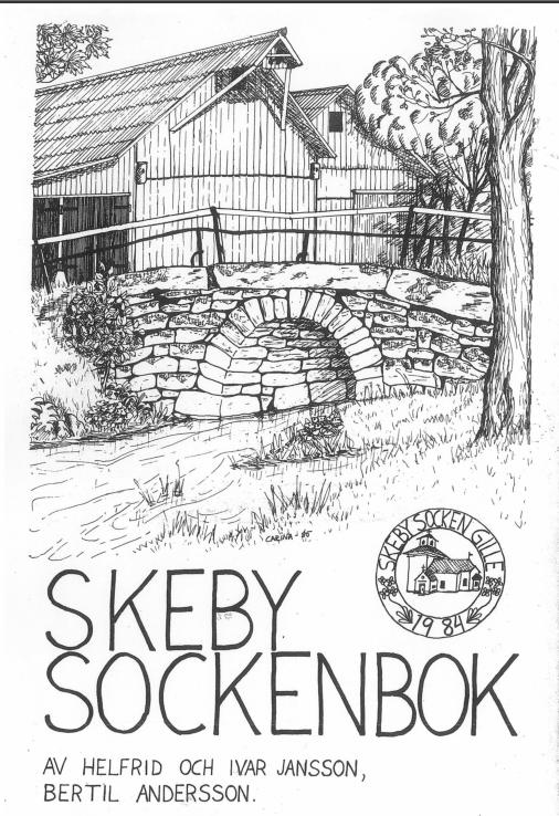 Framsida Skeby Sockenbok (1985)